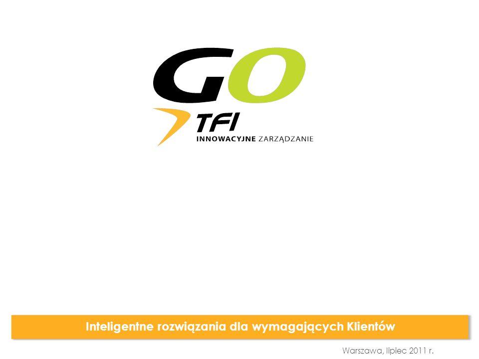 GO FUND FIZ Warszawa, lipiec 2011 r.Beata Kielan Prezes Zarządu GO TFI S.A.
