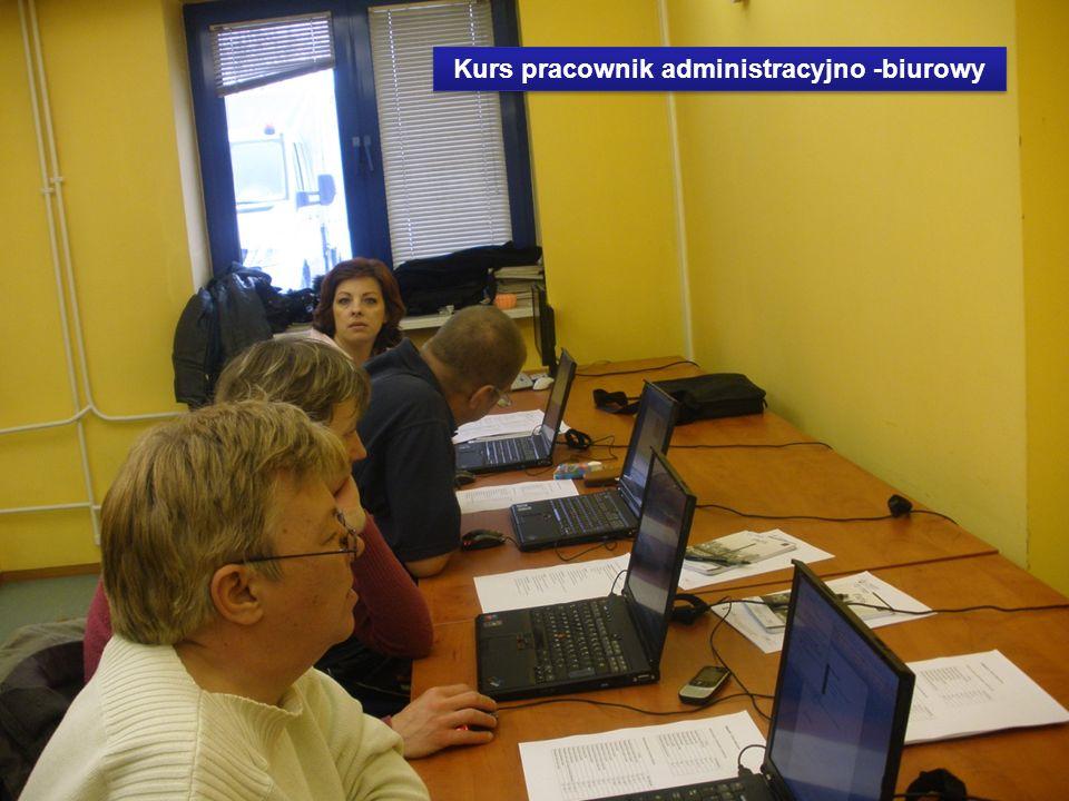Kurs pracownik administracyjno -biurowy