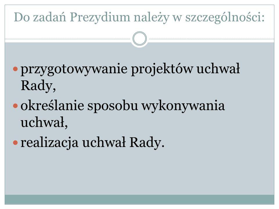 SESJE RADY