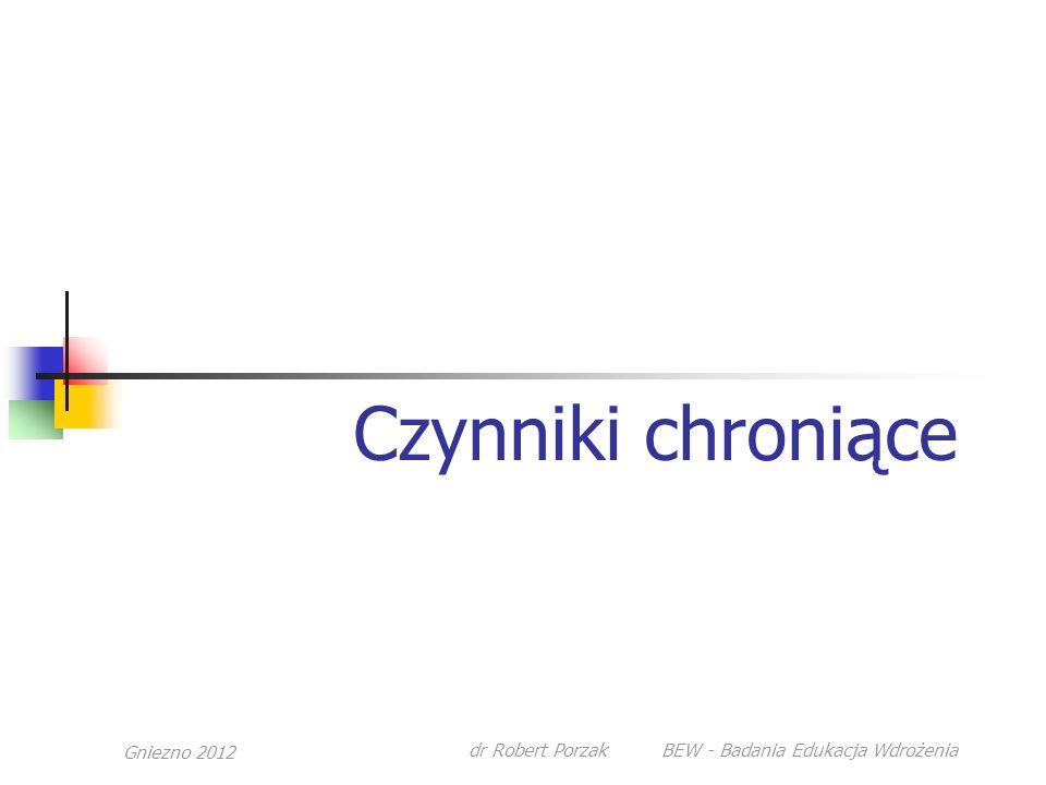 Gniezno 2012dr Robert Porzak BEW - Badania Edukacja Wdrożenia Palenie tytoniu
