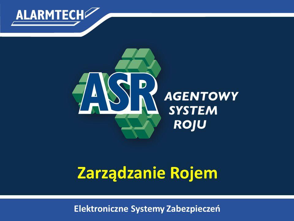 Integracja wielu rojów 11ASR LAN IP100 Rój #1 Przepływ zdarzeń pomiędzy podsystemami Dwustronna synchronizacja akcji Zarządzanie zintegrowanymi rojami z poziomu LAN Zwiększenie parametrów systemu IP100 Rój #2 Integracja GSM100 GPRS