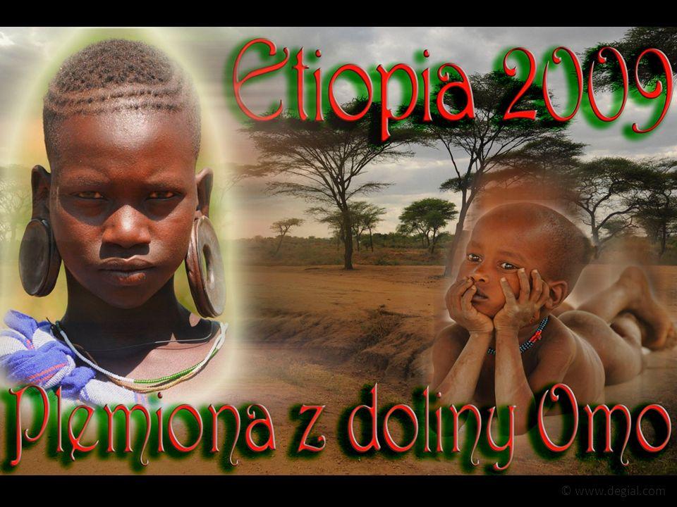 Mursi.Chyba najoryginalniejsi ze wszystkich plemion spotkanych w południowej Etiopii.