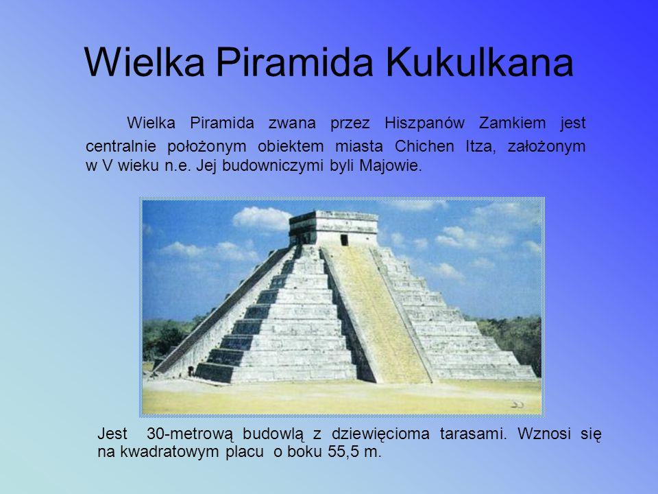Piramida w El Tajín Założone w II wieku p.n.e., miasto El Tajín jest położone nad Zatoką Meksykańską, na północny zachód od Veracruz. Miasto było stol