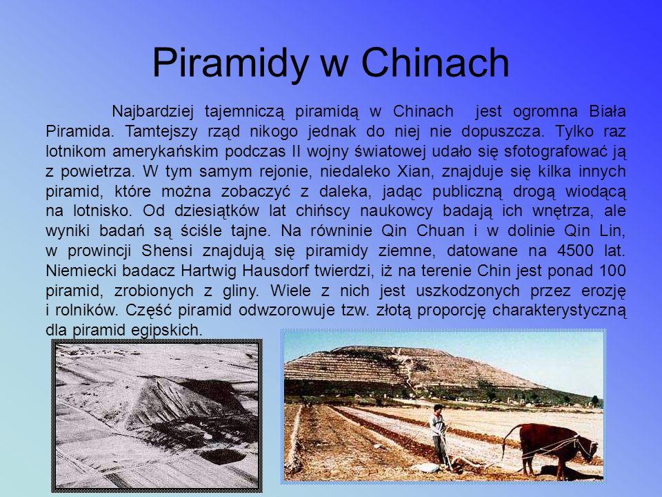Piramidy w Azji Piramidy w Chinach Borobudur