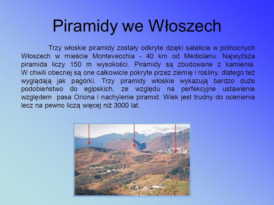 Piramidy w Europie Piramida koło Sędziszowa Małopolskiego Wzgórze Visočica - domniemana Piramida Słońca w Bośni