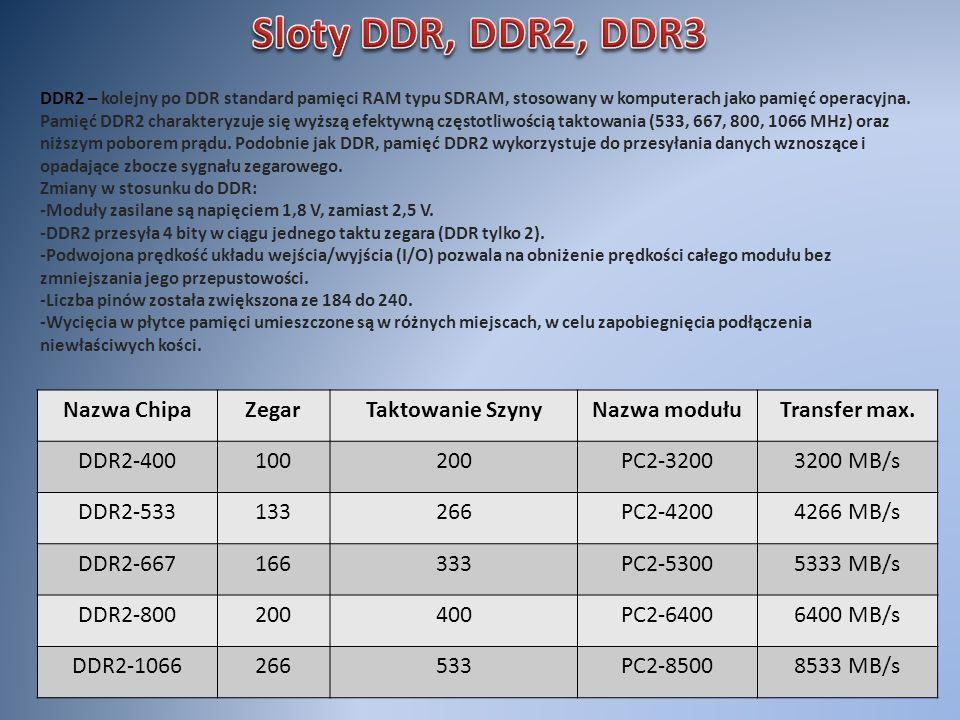 DDR2 – kolejny po DDR standard pamięci RAM typu SDRAM, stosowany w komputerach jako pamięć operacyjna. Pamięć DDR2 charakteryzuje się wyższą efektywną