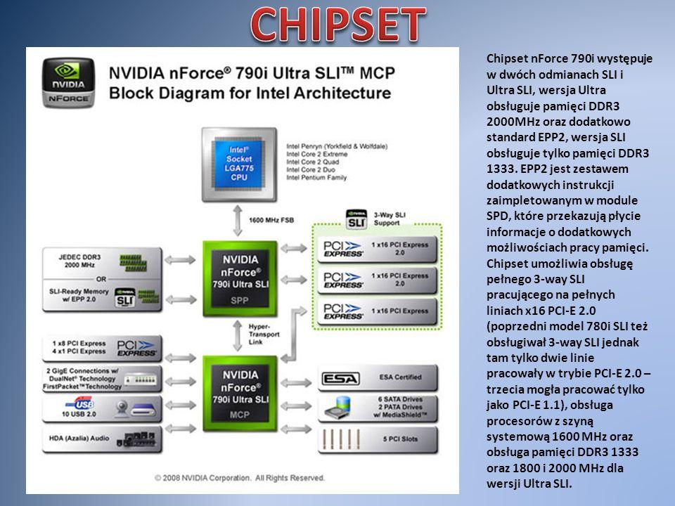 ASUS STRIKER II FORMULA ASUS P5Q PROGigabyte GA- EX58-DS4 ASUS Rampage 2 Extreme Typ gniazda procesora Socket 775 Socket 1366 Obsługiwane procesory Core 2 Duo / Quad / Extreme Pentium Dual Core, Celeron 4xx,Pentium 4 HT, Pentium D Core I7 QPI/FSB1600 /1333/1066/800 MHz 6,4 GT/s Obsługiwane pamięci DDR3 – 1333/1600/2000DDR2 1200/1066/800/667MHz DDR3 – 1066/1333/1600/2000 Maksymalna ilość pamięci : 8GB 16 GB24 GB Złącze Grafiki3x PCI Express x162x PCI Express x161x PCI Express x163x PCI Express x16