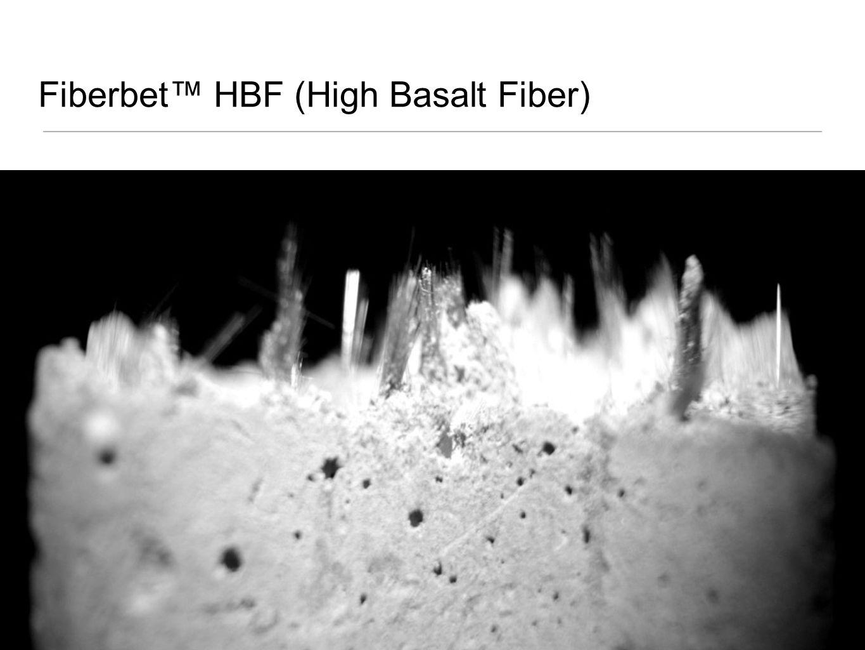 Fiberbet HBF (High Basalt Fiber)
