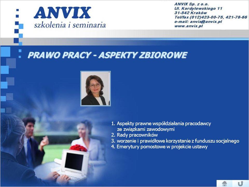 PRAWO PRACY - ASPEKTY ZBIOROWE 1.