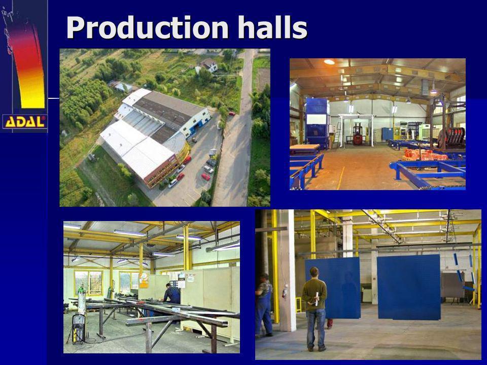 Production halls Production halls