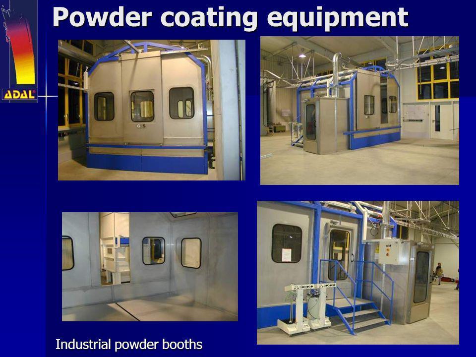 Powder coating equipment Industrial powder booths