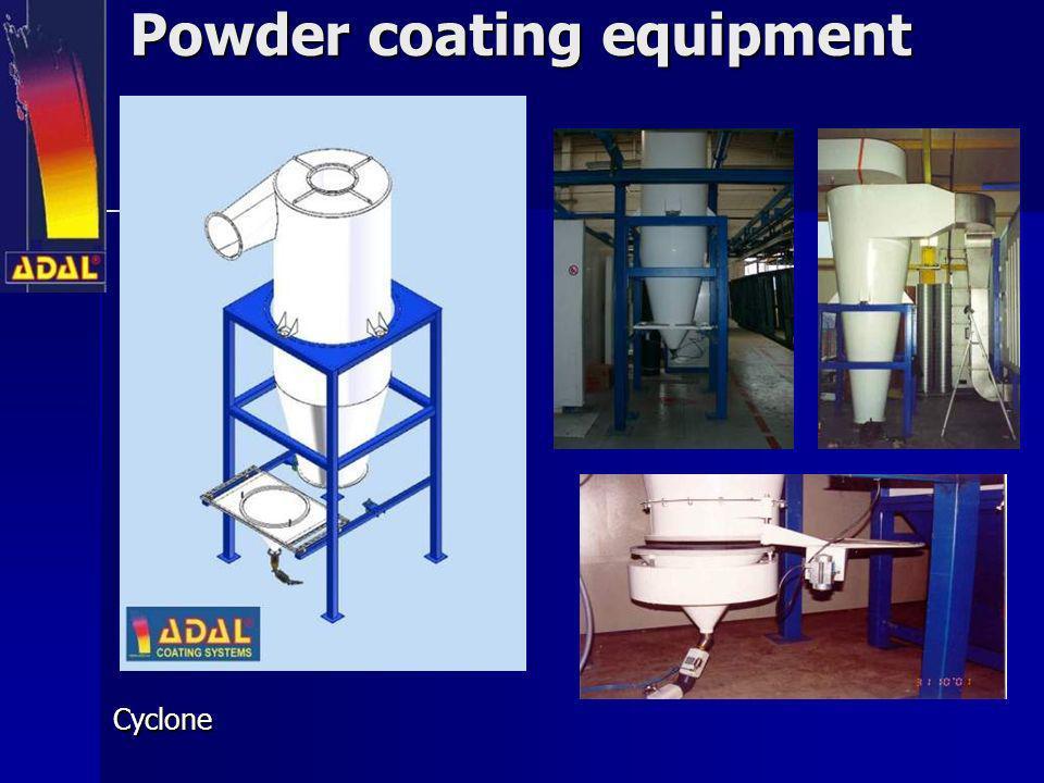 Powder coating equipment Cyclone