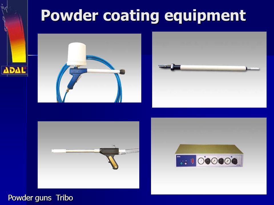 Powder coating equipment Powder guns Tribo