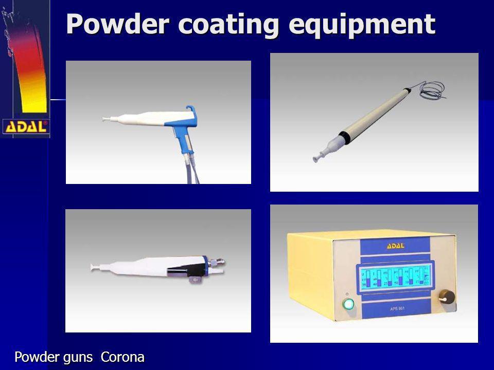 Powder coating equipment Powder guns Corona