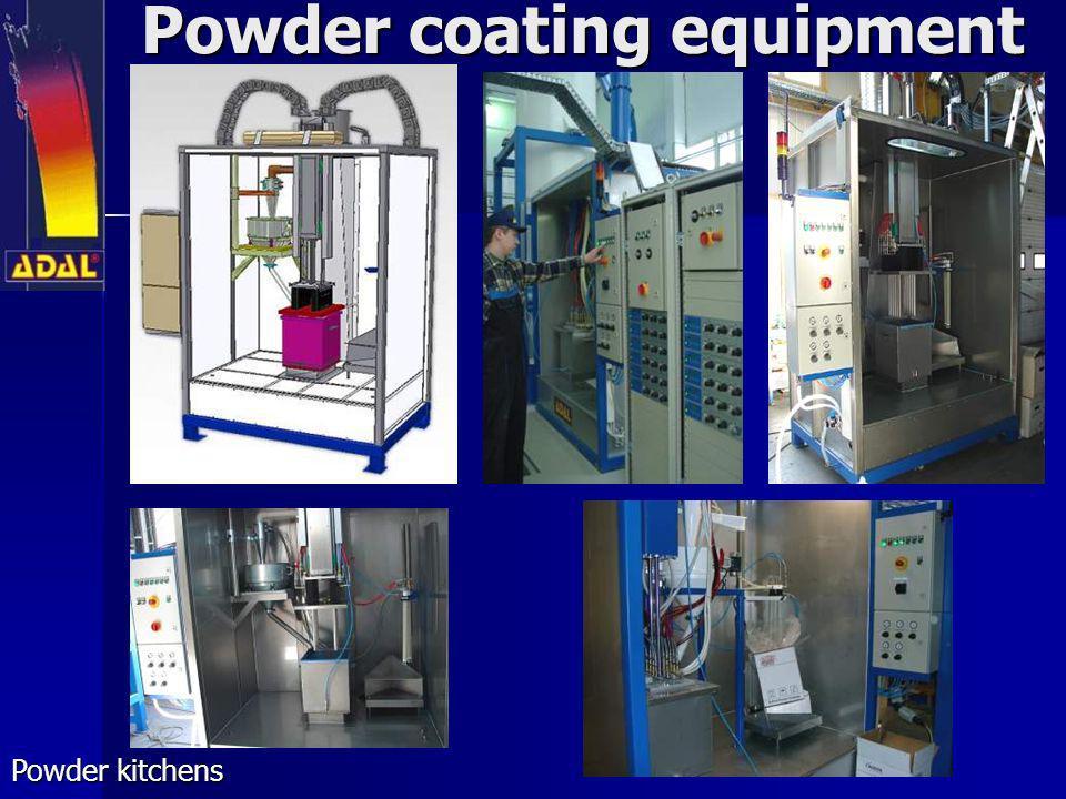 Powder coating equipment Powder kitchens