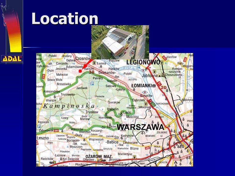 Our history 1981założenie firmy Warszawa-Ursus 1983rozpoczęcie produkcji aparatów malarskich airless 1984udział w Międzynarodowych Targach Poznańskich 1984przeniesienie siedziby na ul.