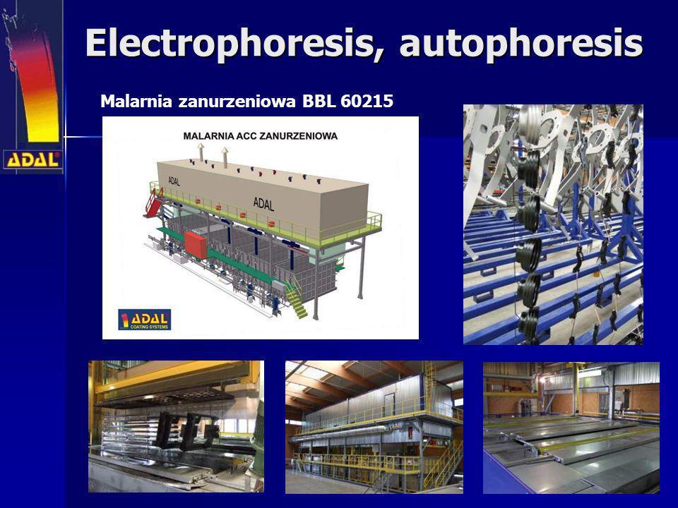Electrophoresis, autophoresis Malarnia zanurzeniowa BBL 60215
