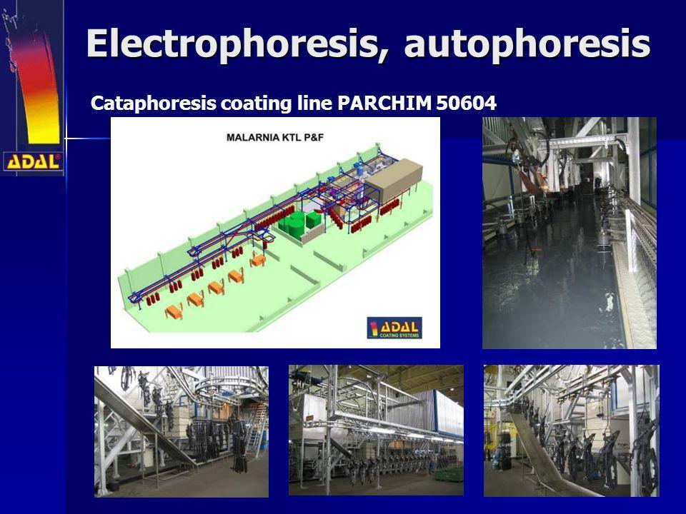Electrophoresis, autophoresis Cataphoresis coating line PARCHIM 50604