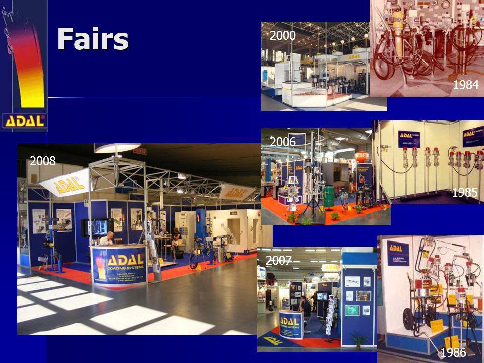 Fairs 1984 1985 1986 2000 2006 2007 2008