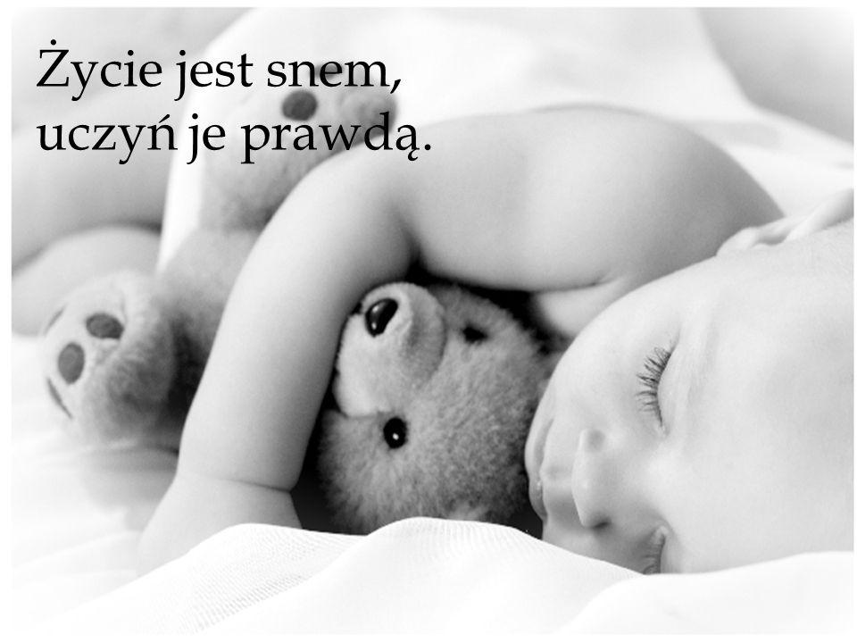 Życie jest snem, uczyń je prawdą.