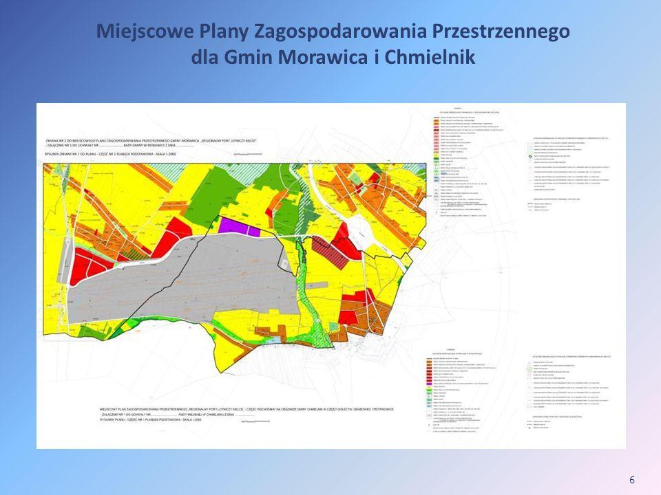 6 Miejscowe Plany Zagospodarowania Przestrzennego dla Gmin Morawica i Chmielnik