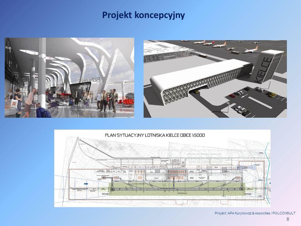 Projekt koncepcyjny Projekt: APA Kuryłowicz & Assocites i POLCONSULT 8