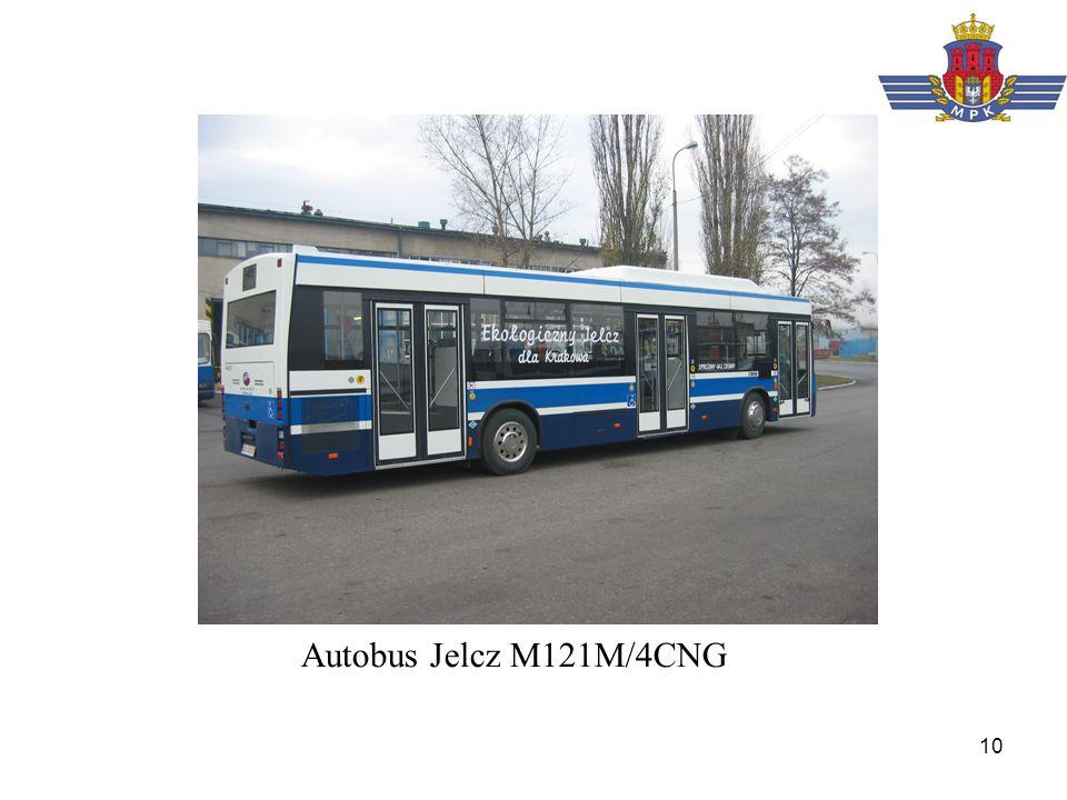 10 Autobus Jelcz M121M/4CNG