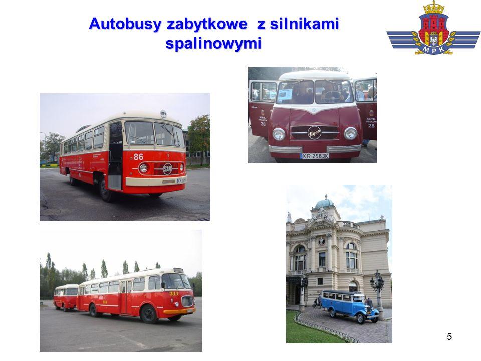 5 Autobusy zabytkowe z silnikami spalinowymi
