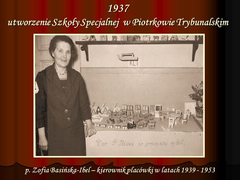 1937 dokumentacja związana z utworzeniem placówki