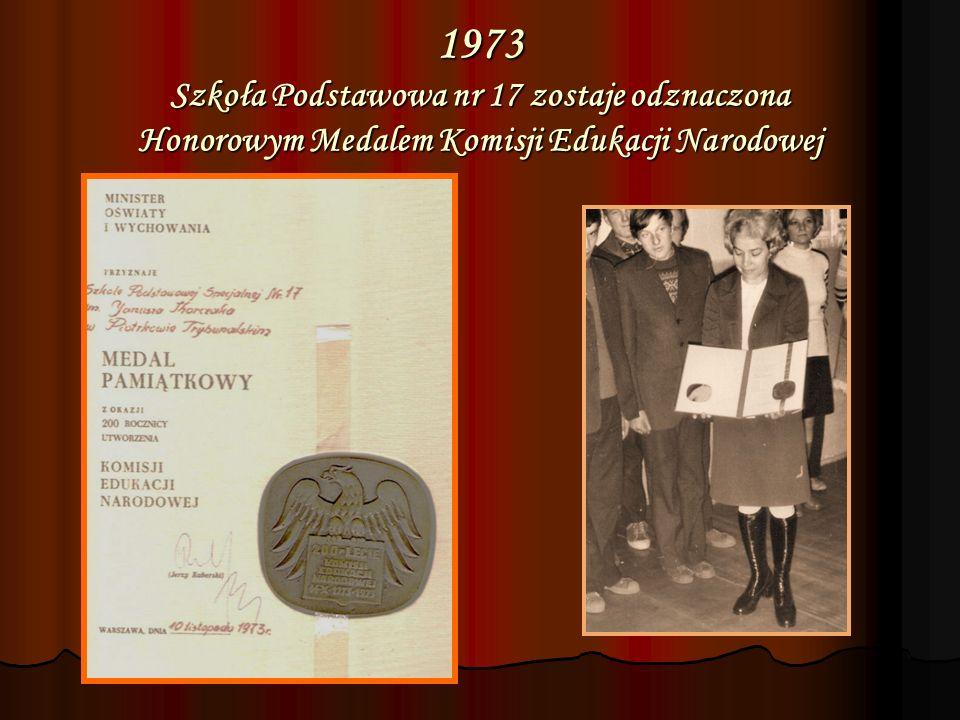 1987 nadanie sztandaru Szkole Podstawowej nr 17