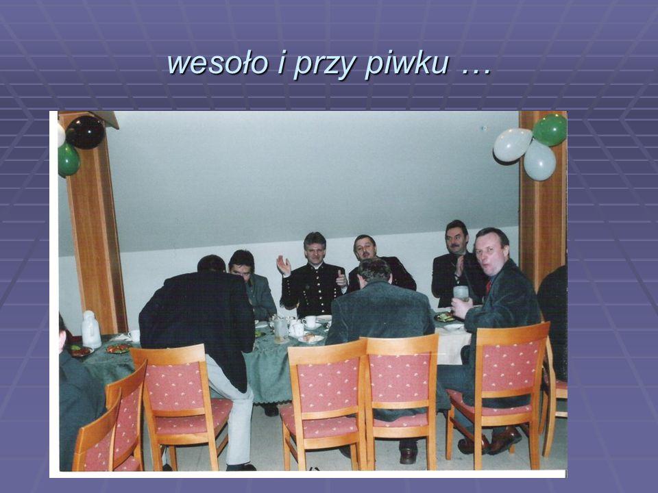 KARCZMA GÓRNICZA Związku Zawodowego Maszynistów Wyciągowych Kopalń w Polsce przy KWK Makoszowy w Zabrzu 04 grudnia 2003