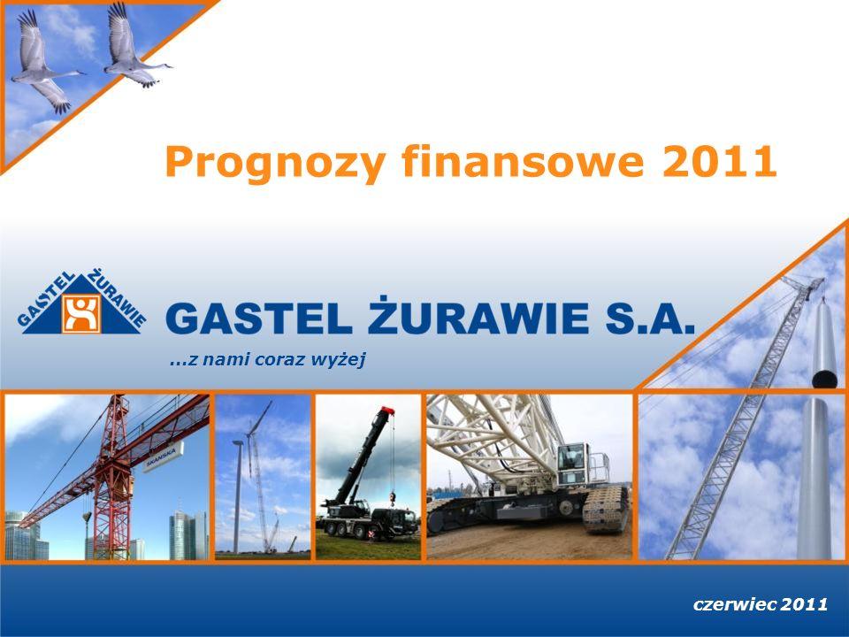 czerwiec 2011...z nami coraz wyżej Prognozy finansowe 2011