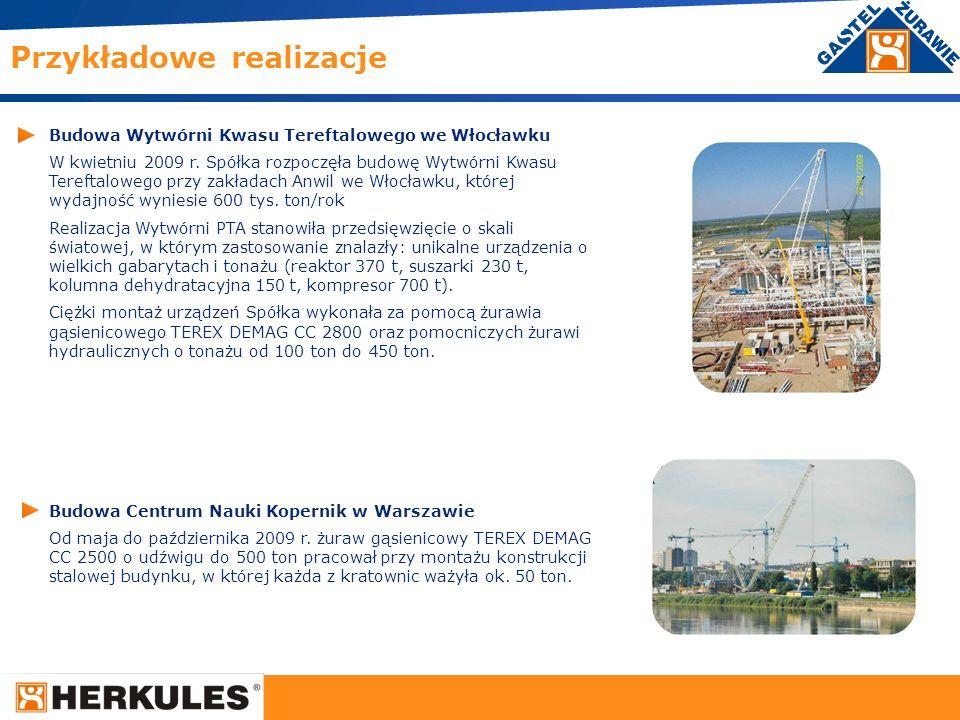 24 Budowa Wytwórni Kwasu Tereftalowego we Włocławku W kwietniu 2009 r. Spółka rozpoczęła budowę Wytwórni Kwasu Tereftalowego przy zakładach Anwil we W