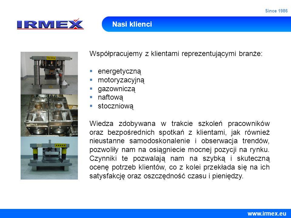 Nasi klienci Współpracujemy z klientami reprezentującymi branże: energetyczną motoryzacyjną gazowniczą naftową stoczniową Wiedza zdobywana w trakcie s