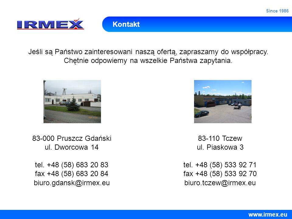 Kontakt Jeśli są Państwo zainteresowani naszą ofertą, zapraszamy do współpracy. Chętnie odpowiemy na wszelkie Państwa zapytania. 83-000 Pruszcz Gdańsk