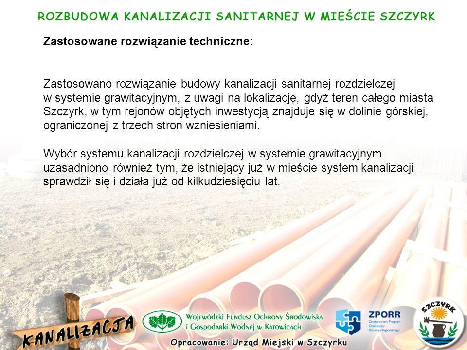 WYKONAWSTWO i NADZÓR: W wyniku przetargu nieograniczonego na realizację inwestycji Rozbudowa kanalizacji sanitarnej w Szczyrku dokonano wyboru oferty konsorcjum firm: HYDRO - BIELSKO Sp.