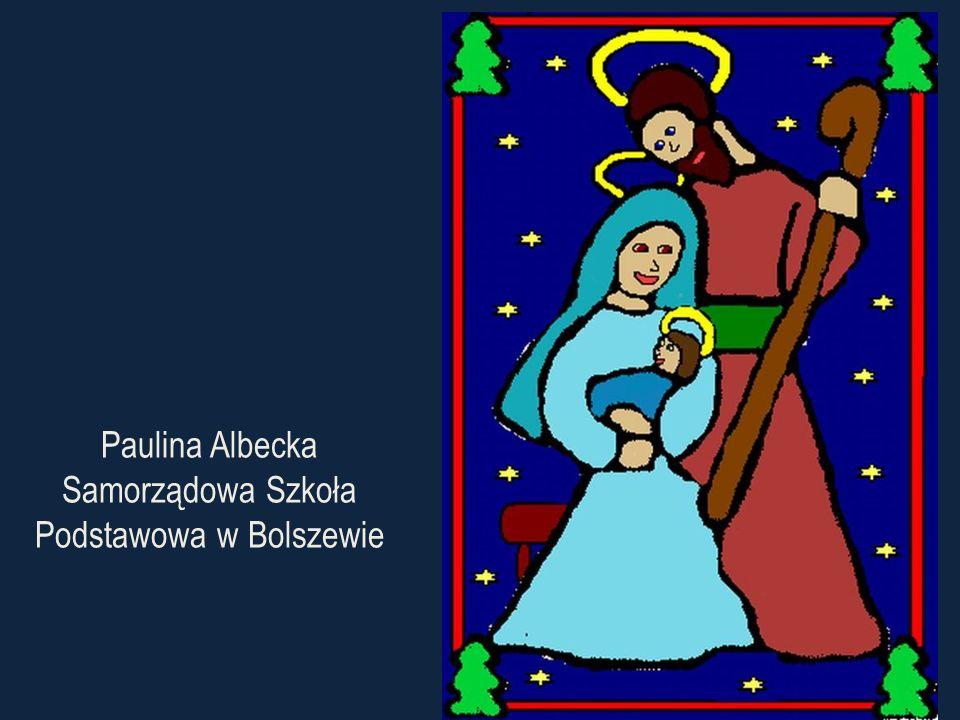 Paulina Albecka Samorządowa Szkoła Podstawowa w Bolszewie