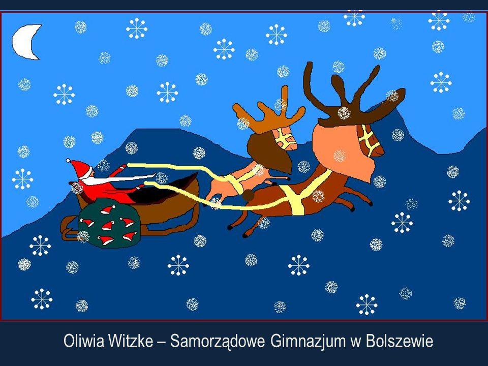 Oliwia Witzke – Samorządowe Gimnazjum w Bolszewie