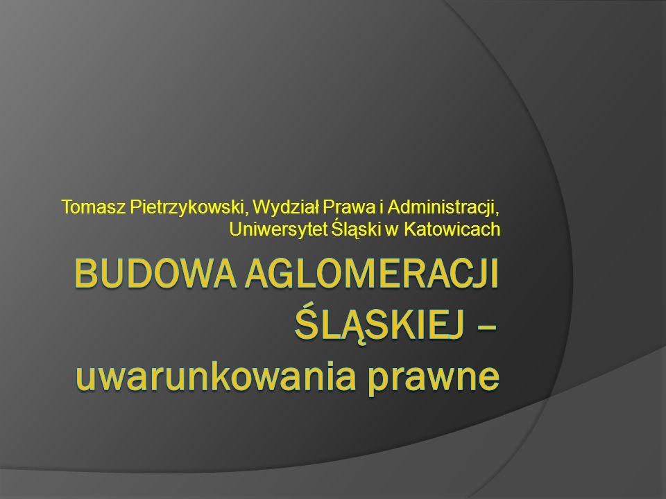 Tomasz Pietrzykowski, Wydział Prawa i Administracji, Uniwersytet Śląski w Katowicach