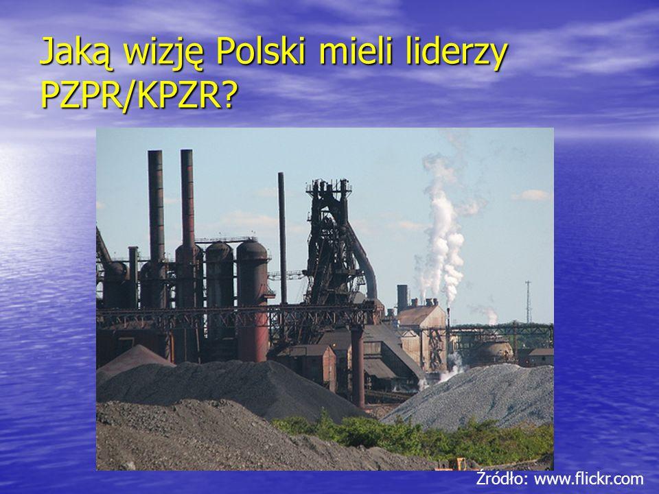 Jaką wizję Polski mieli liderzy PZPR/KPZR? Źródło: www.flickr.com