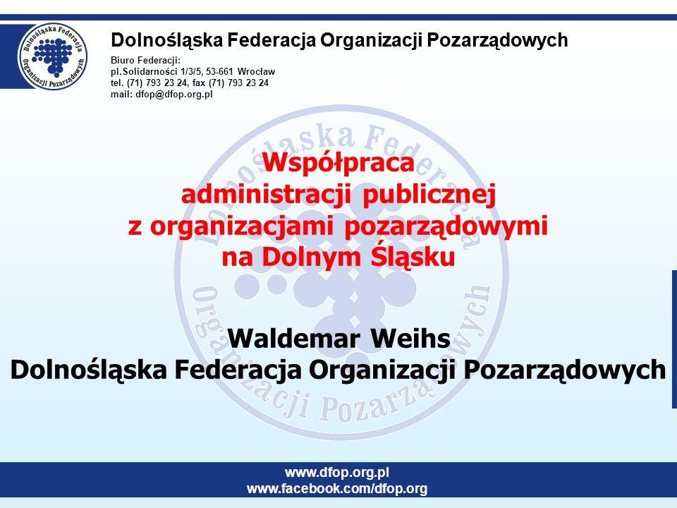 Biuro Federacji: pl.Solidarności 1/3/5, 53-661 Wrocław tel.