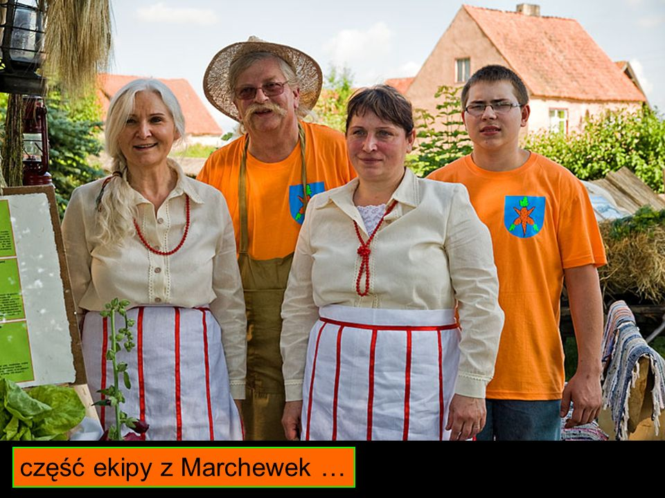 część ekipy z Marchewek …