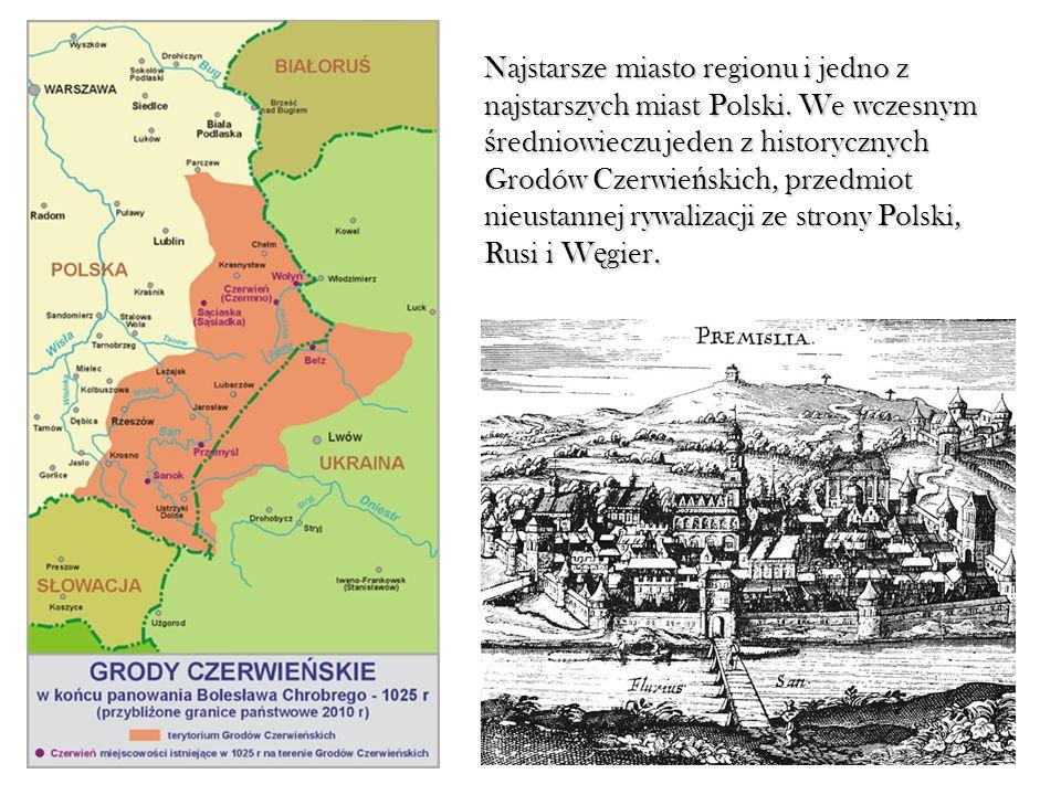 Najstarsze miasto regionu i jedno z najstarszych miast Polski. We wczesnym ś redniowieczu jeden z historycznych Grodów Czerwie ń skich, przedmiot nieu
