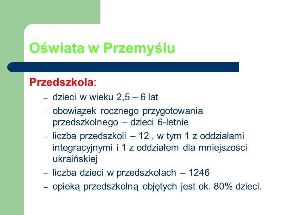 Oświata w Przemyślu cd.