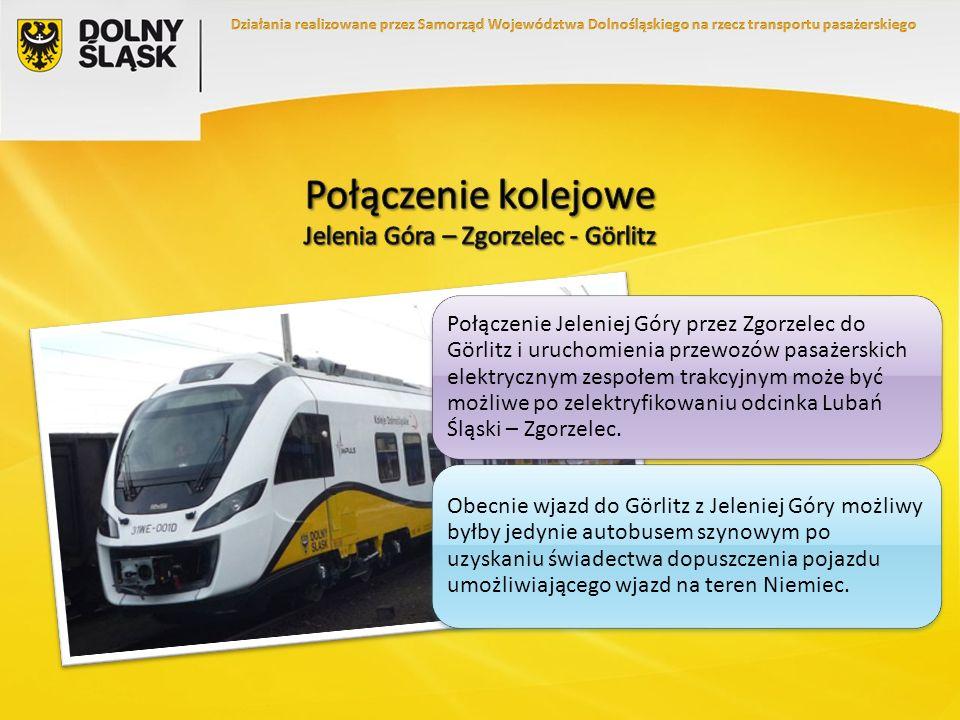 Połączenie Jeleniej Góry przez Zgorzelec do Görlitz i uruchomienia przewozów pasażerskich elektrycznym zespołem trakcyjnym może być możliwe po zelektr