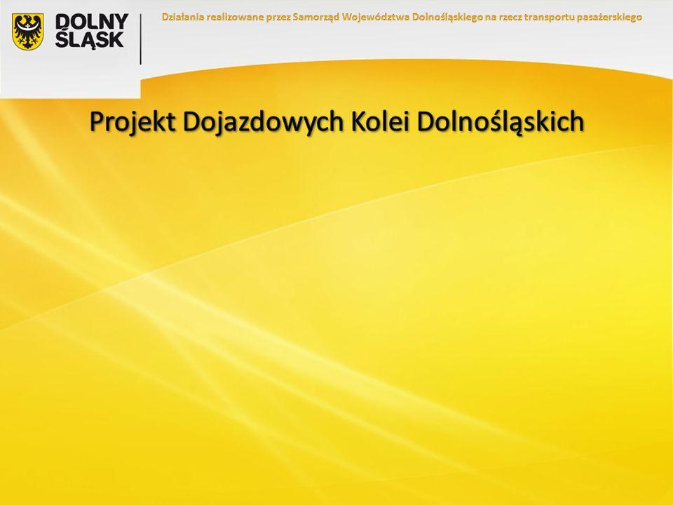 Przewozy Regionalne – wzrost o 8,37% Koleje Dolnośląskie – wzrost o 51,1%
