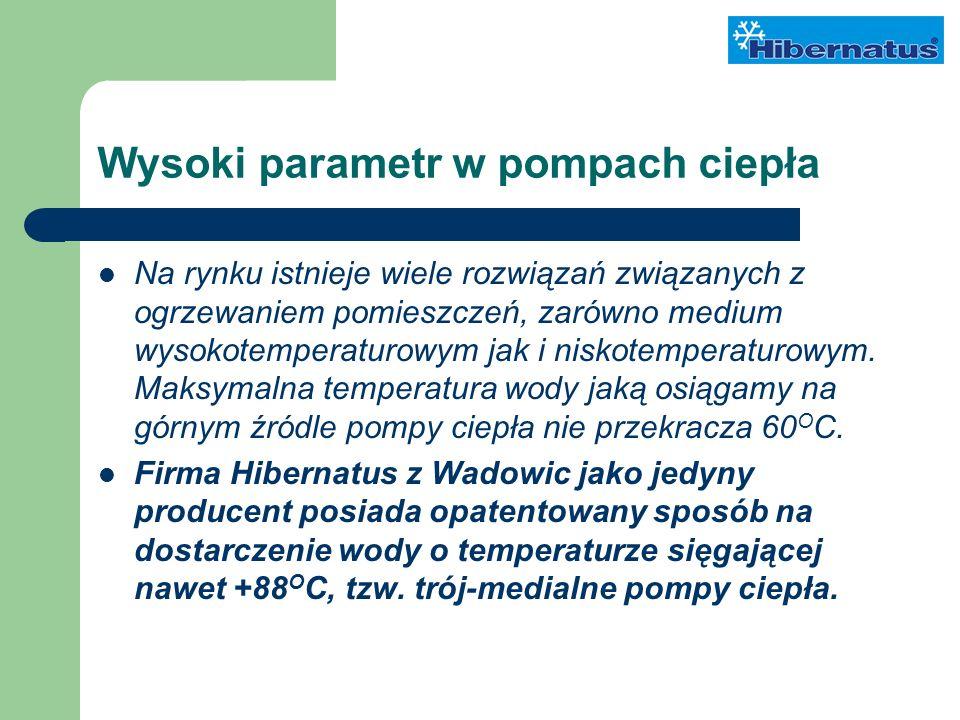 Wysoki parametr w pompach ciepła Na rynku istnieje wiele rozwiązań związanych z ogrzewaniem pomieszczeń, zarówno medium wysokotemperaturowym jak i niskotemperaturowym.