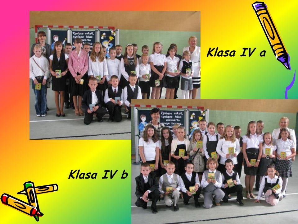 Klasa IV a Klasa IV b
