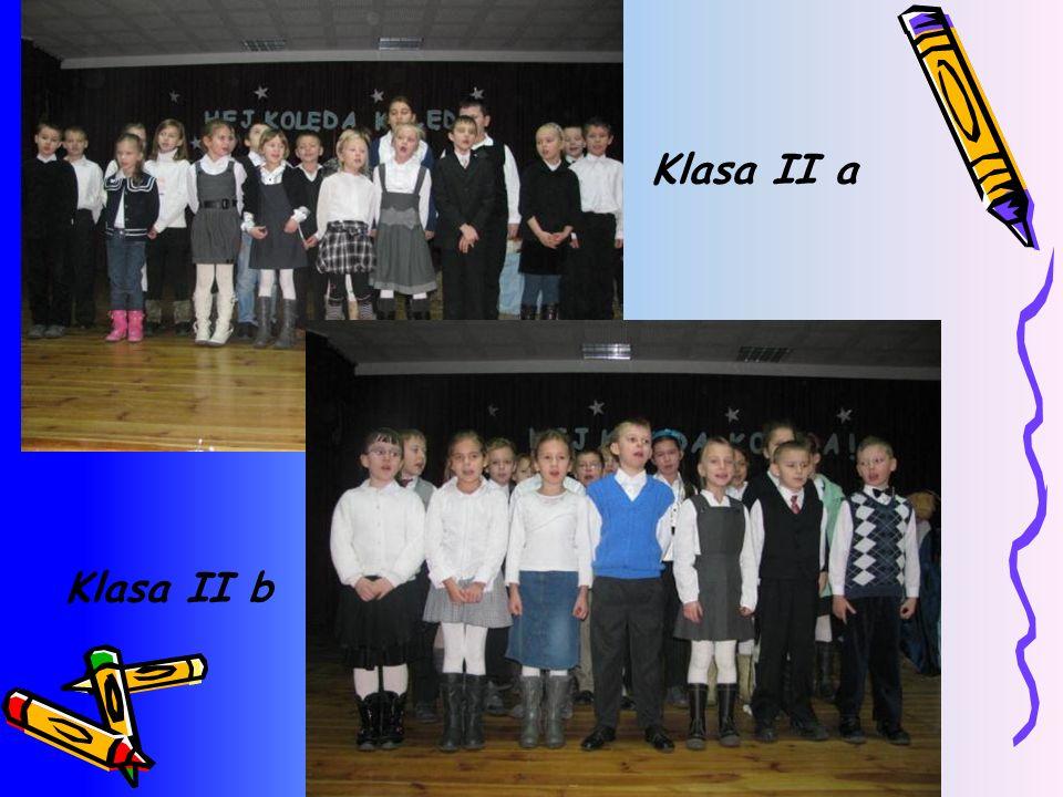Klasa II a Klasa II b