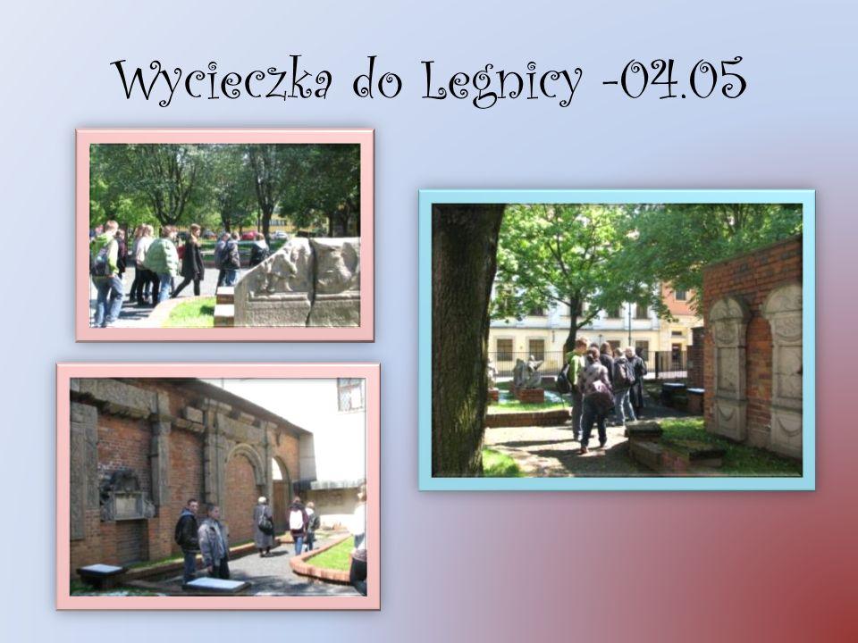 Wycieczka do Legnicy -04.05